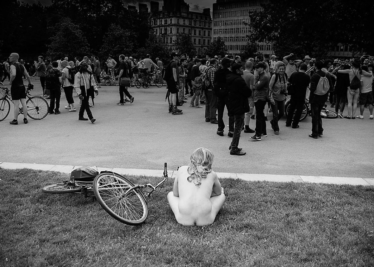 The World naked bike ride London
